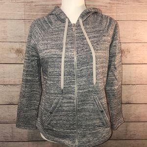 Style & co zip up hoodie